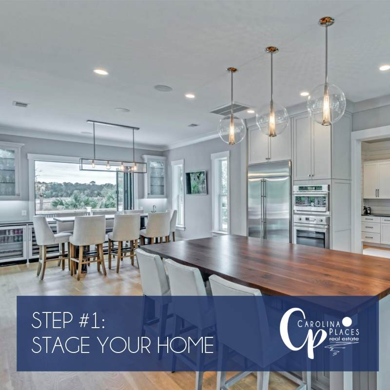 Step One - Stage Your Home