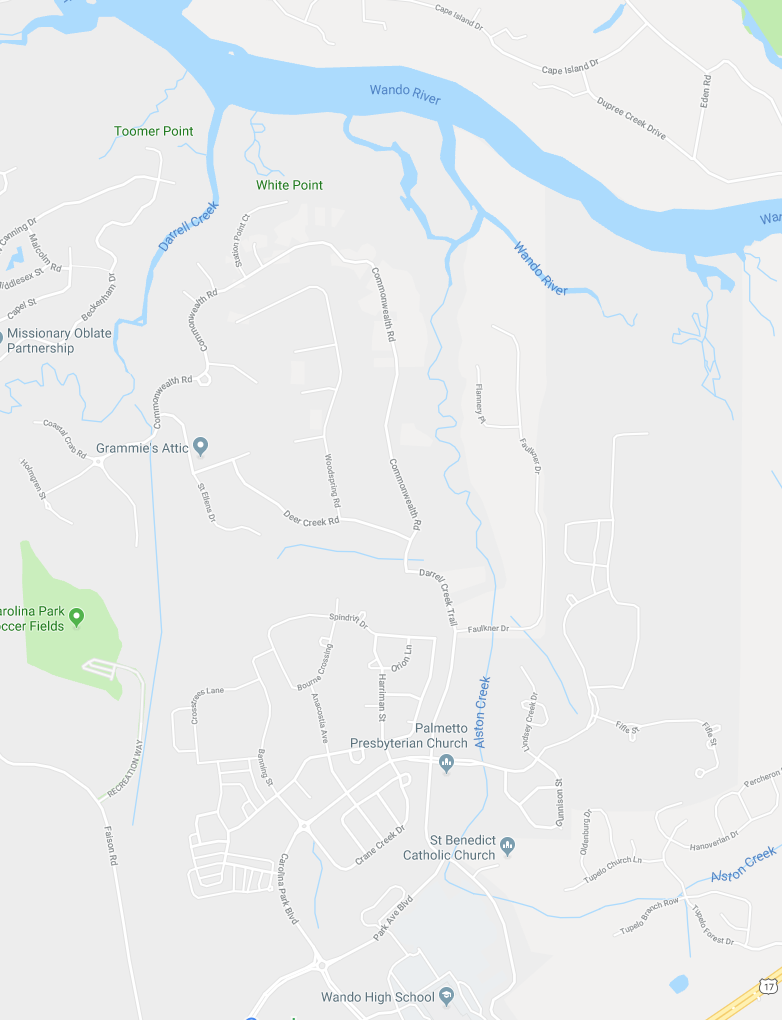 Darrell Creek | Mount Pleasant Real Estate